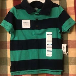 NWT 12-18 month Old Navy polo shirt